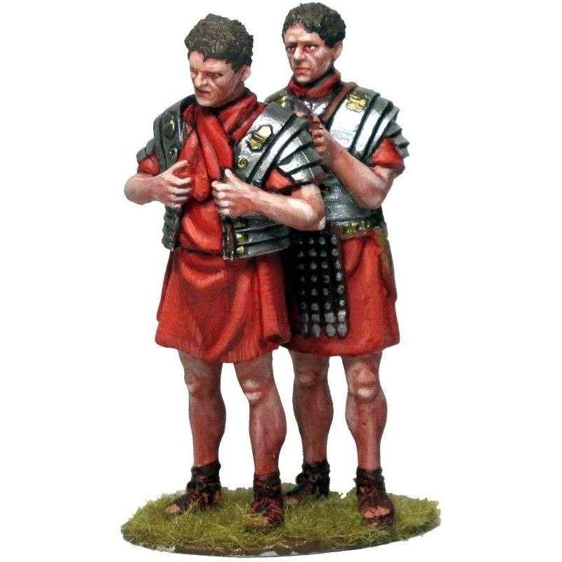 Legionaries wearing armor