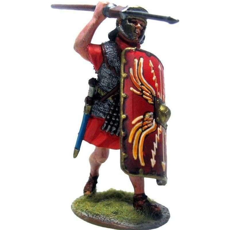 PR 050 Legionario romano IV macedonica avanzando con pilum