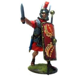 PR 051 toy soldier optio IV Macedonian advancing