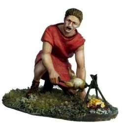 PR 057 Legionario romano cocinando