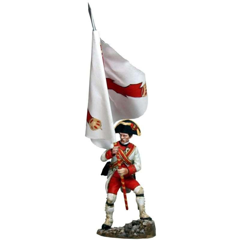 Navarra regiment standard bearer