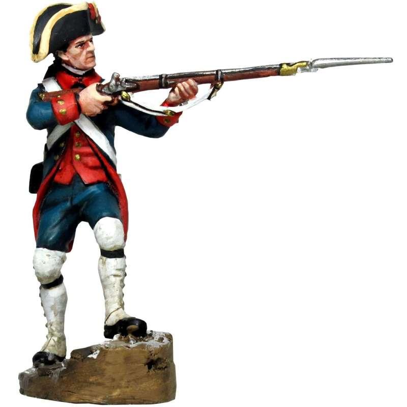Soldado real cuerpo artillería