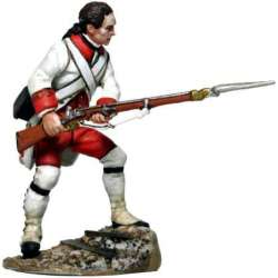 SYW 015 toy soldier navarra regiment fussilier attack