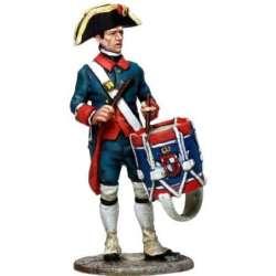 NP 258 Voltigeurs de linea soldado con capote 1