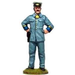 CUBA 001 toy soldier oficial infantería gorro servicio