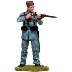 CUBA 003 Soldado español Cuba 1898 gorro cuartel