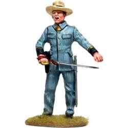 CUBA 005 toy soldier oficial con espada
