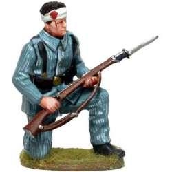 CUBA 006 toy soldier Soldado herido