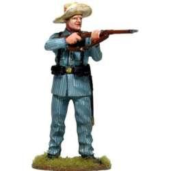 CUBA 007 Spanish soldier Cuba 1898 standing firing 2