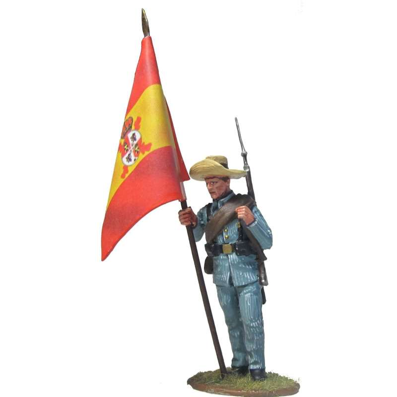 CUBA 013 Bandera española Cuba 1898