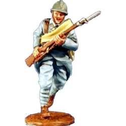 GW 008 toy soldier poilu francés