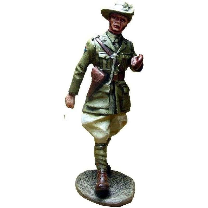 GW 009 27th Bn. Australian division Europe 1918 officer