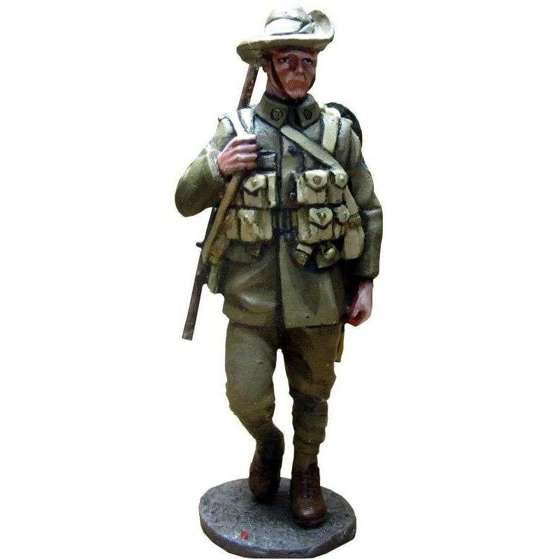GW 010 Soldado 27º Batallón división australiana Europa 1918