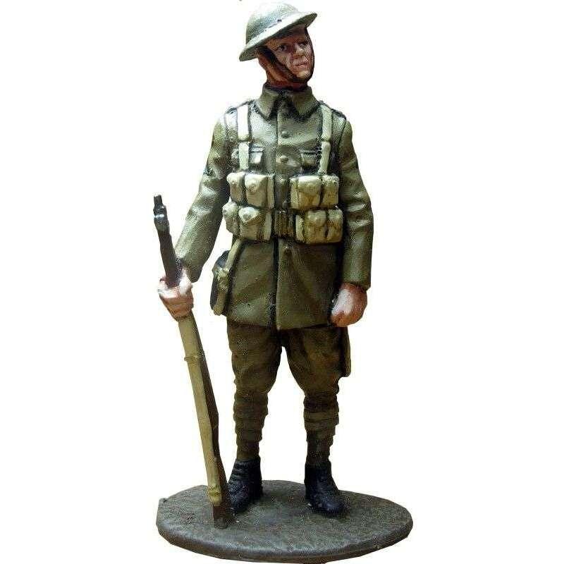 GW 015 Soldado 1 regimiento North Staffordshire 1918