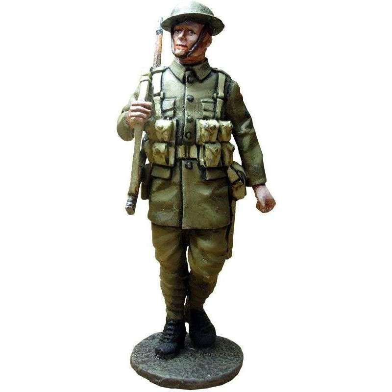 GW 016 Soldado 2 regimiento North Staffordshire 1918