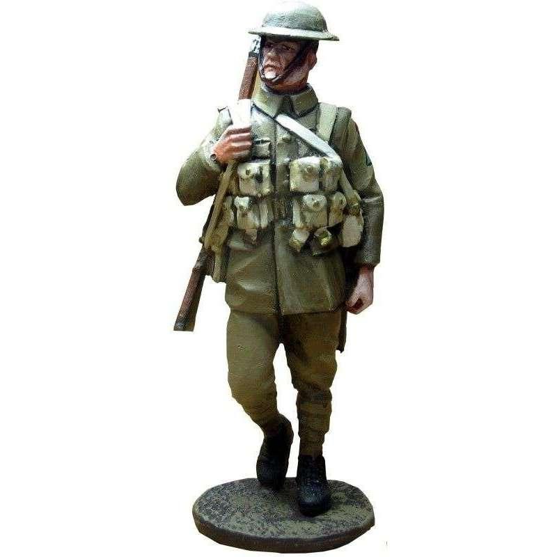 GW 017 Soldado 3 regimiento North Staffordshire 1918