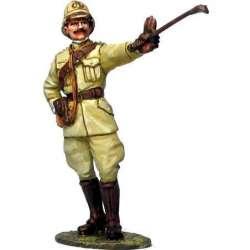 Oficial caballería italiano Africa 1915