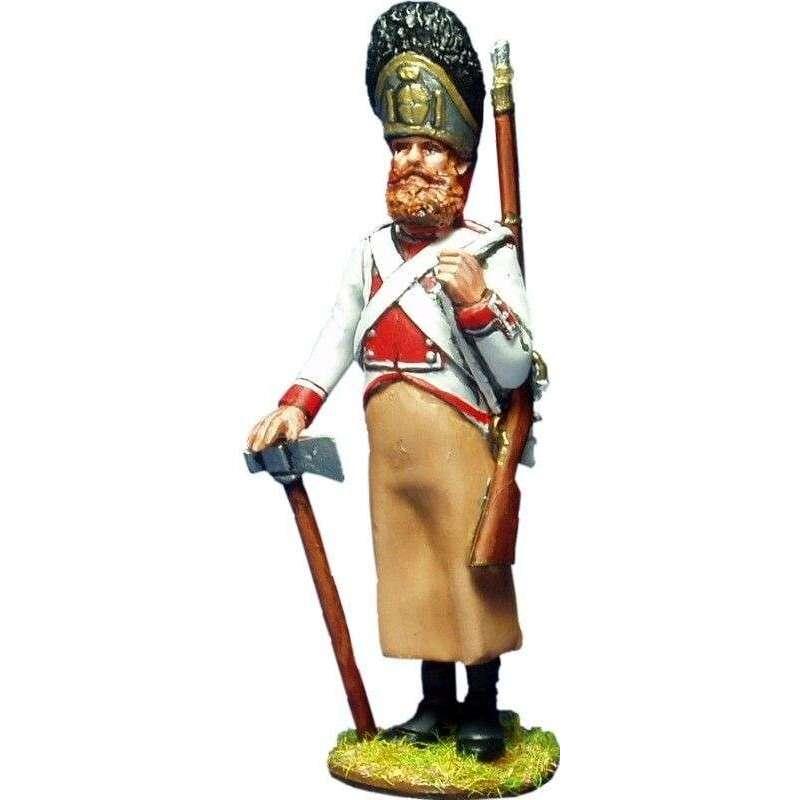 NP 165 Regimiento Guadalajara 1808 zapador