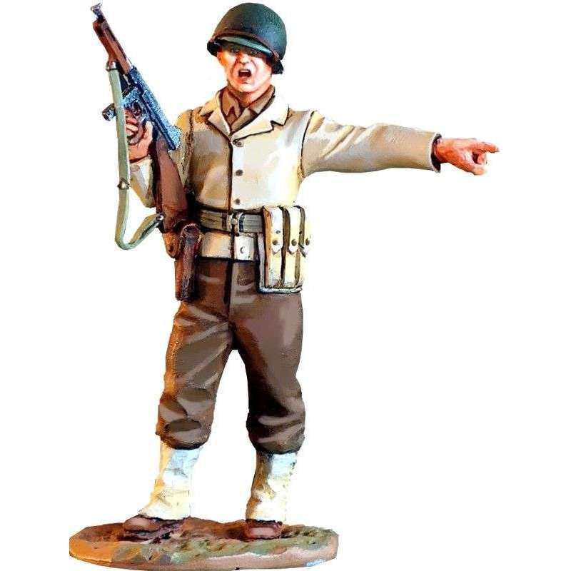 US infantry officer