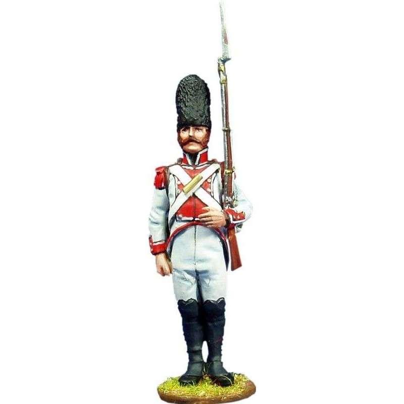 Sargento regimiento Guadalajara 1808