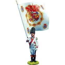 NP 171 toy soldier abanderado regimiento Guadalajara