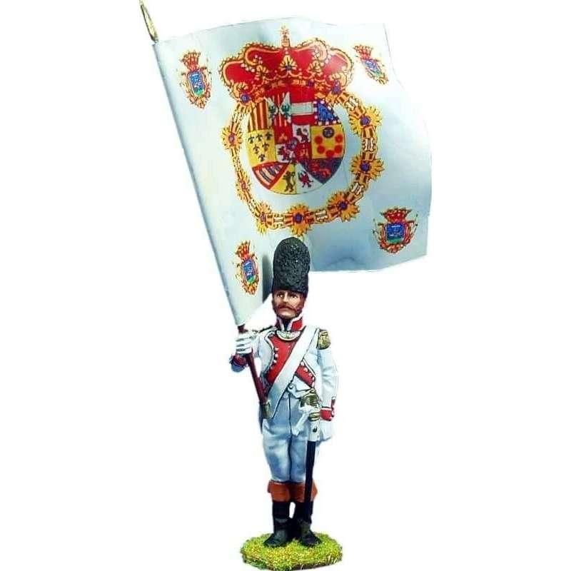 Guadalajara regiment 1808 standard bearer