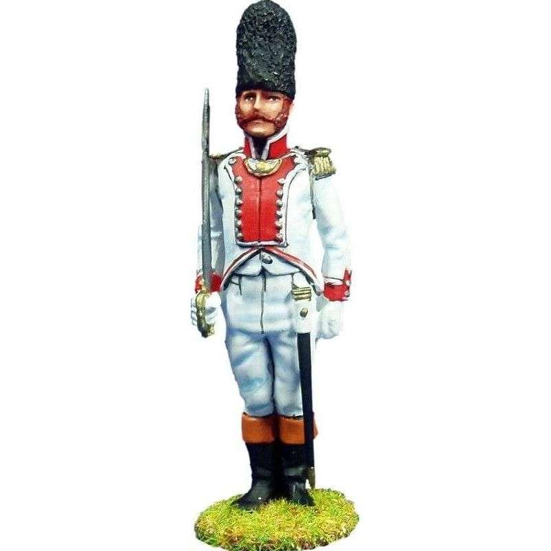 Oficial regimiento Guadalajara 1808