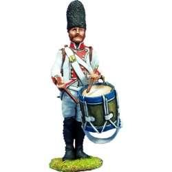 NP 173 toy soldier tambor regimiento Guadalajara