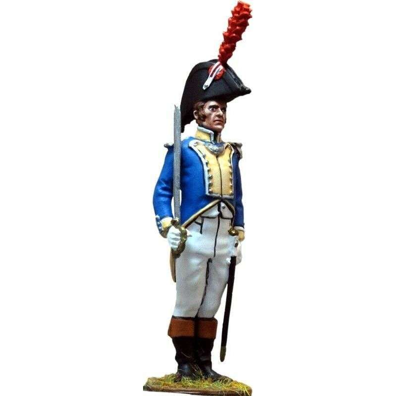 Spanish Irlanda regiment fussiliers officer