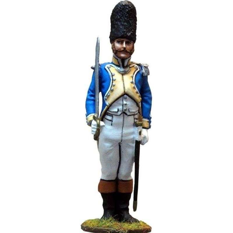 Spanish Irlanda regiment grenadiers officer