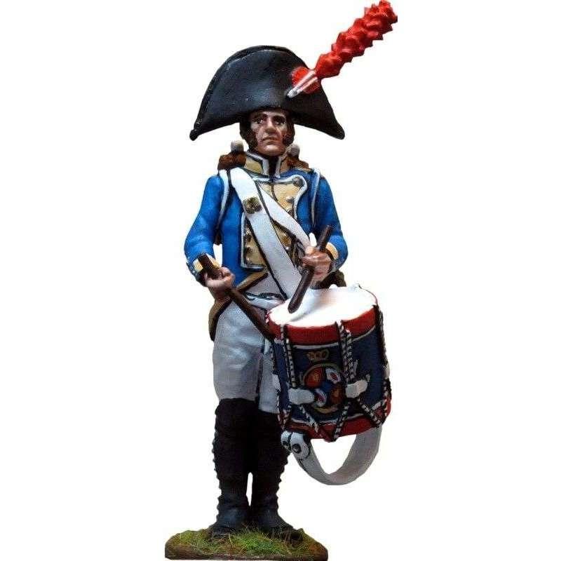 Spanish Irlanda regiment drummer