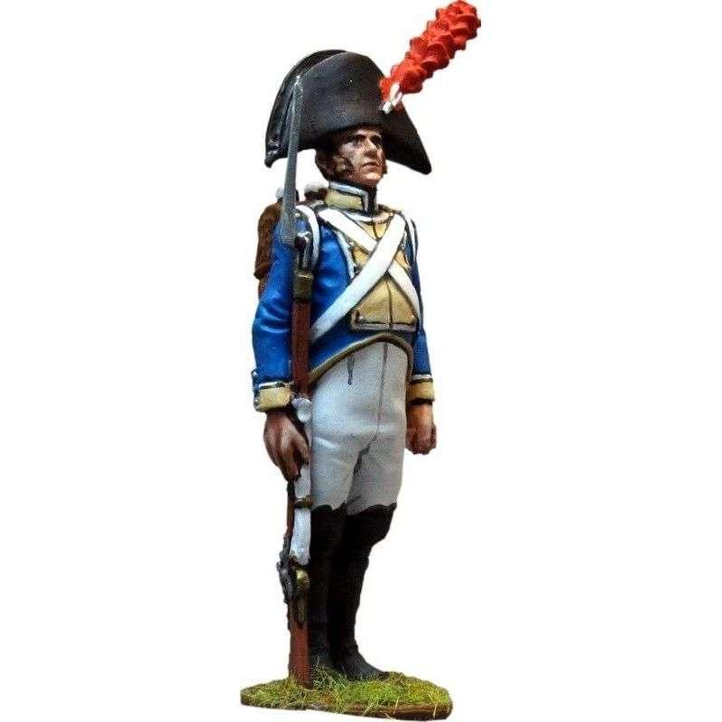Spanish Irlanda regiment fusilier