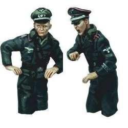 WW 195 Torsos comandantes carro