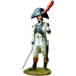 NP 541 toy soldier teniente regimiento áfrica