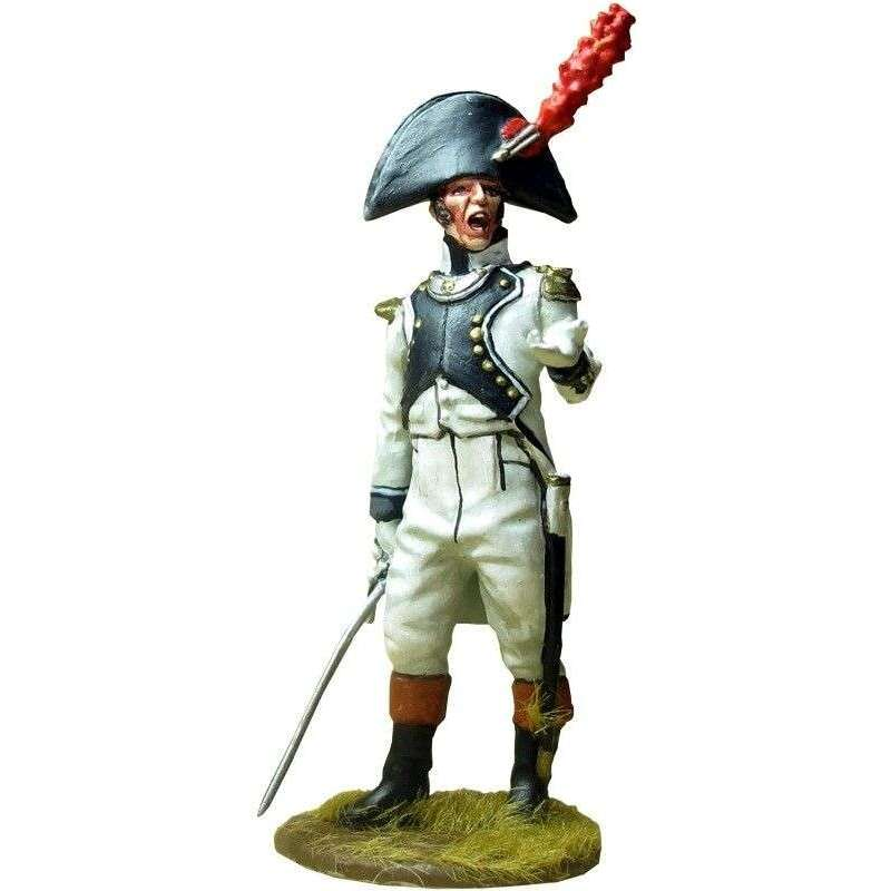Teniente Regimiento Africa 1808 Bailén