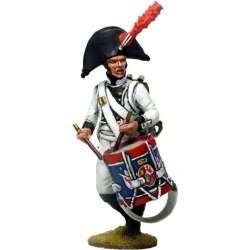 NP 543 toy soldier tambor regimiento áfrica