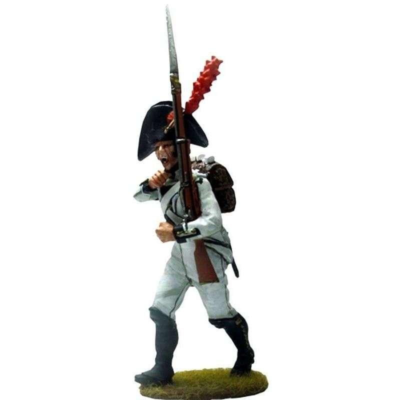 Regimiento Africa 1808 Bailén marchando