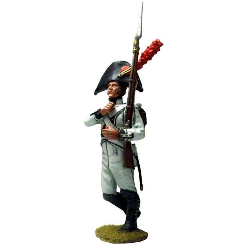 Regimiento Africa 1808 Bailén marchando 2