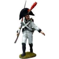 NP 552 toy soldier sargento marchando regimiento áfrica