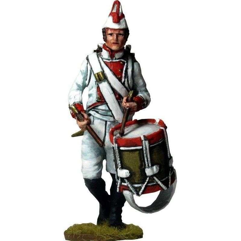 Mallorca regiment Moclín 1808 drummer
