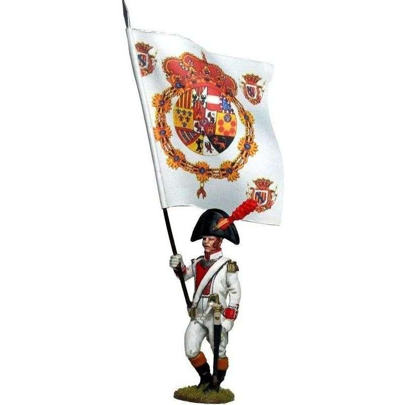 Mallorca regiment Moclín 1808 standard bearer