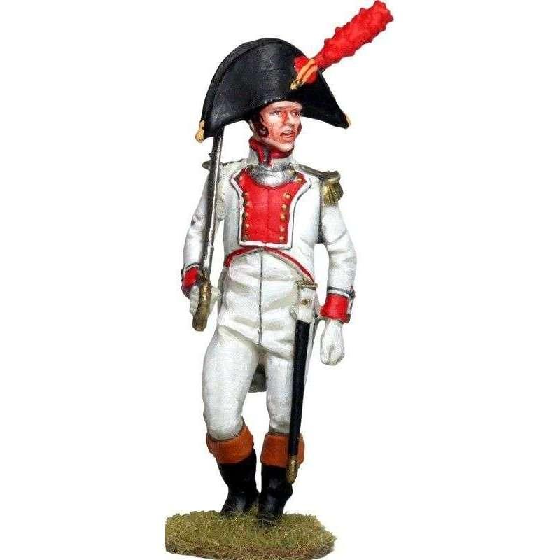 Oficial Regimiento Mallorca Moclín 1808