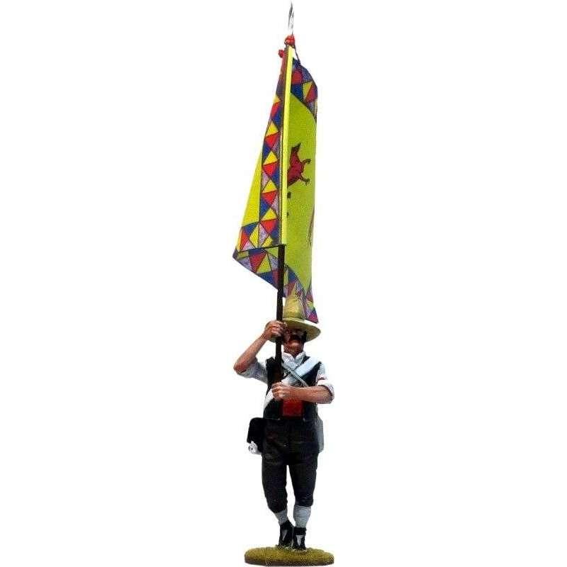 Bandera Batallón voluntarios León Moclín 1808