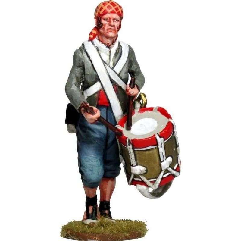 Tambor 2 Batallón voluntarios León Moclín 1808