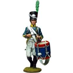 1st Light infantry regiment Barcelona 1807 drummer