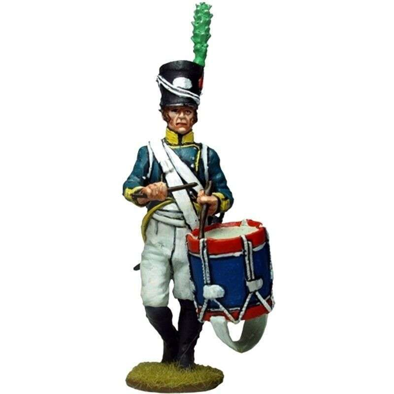 1st Light infantry regiment Barcelona 1807 drummer