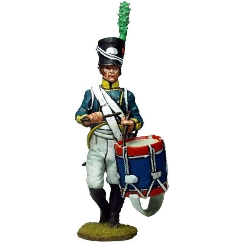 Tambor Primer regimiento infantería Barcelona 1807