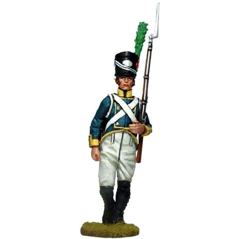 1st Light infantry regiment Barcelona 1807 private