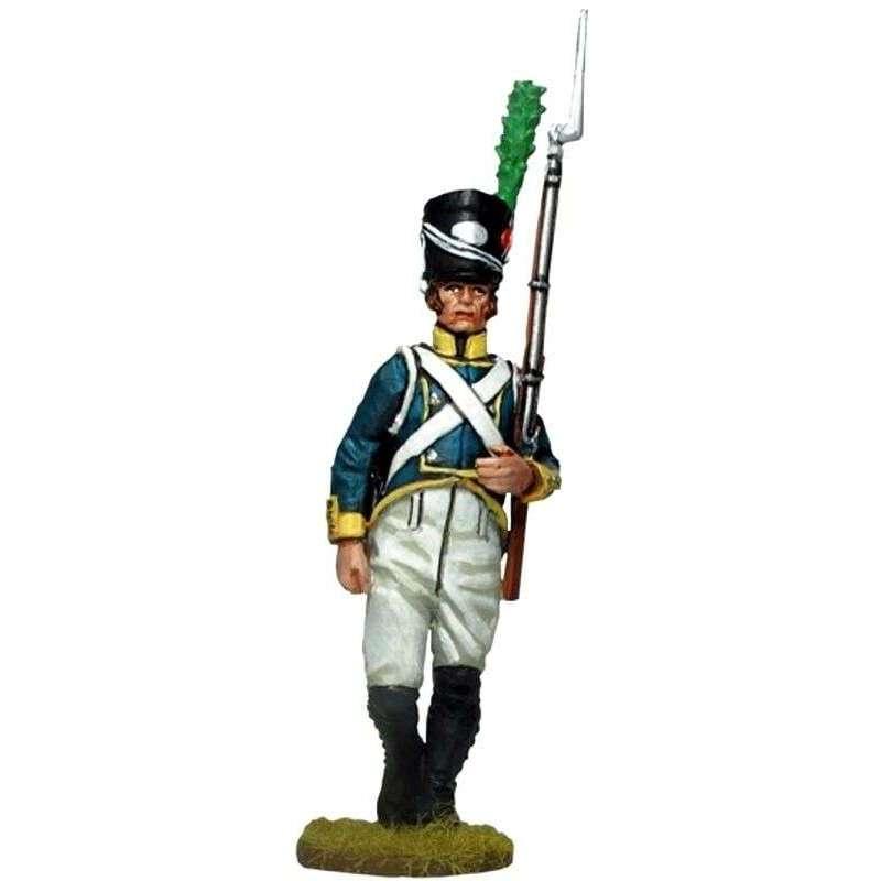 NP 562 Soldado Primer regimiento infantería Barcelona 1807