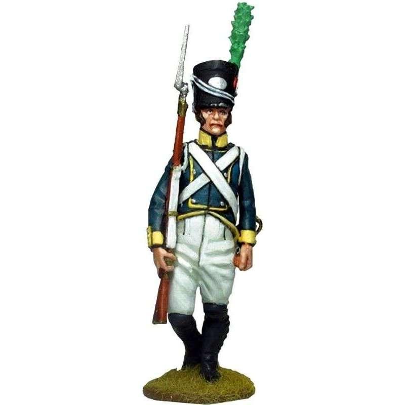 NP 563 Sargento Primer regimiento infantería Barcelona 1807